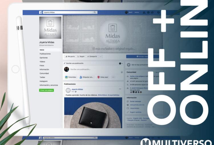 Social Media MKT Joyería Midas
