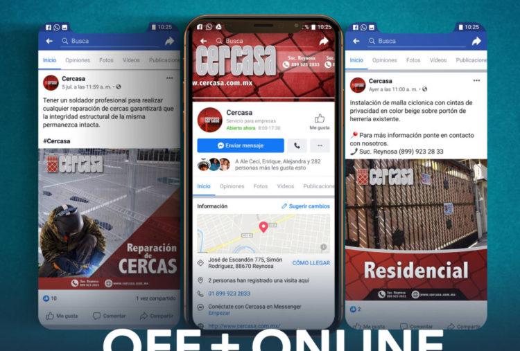 Social Media MKT CERCASA Reynosa